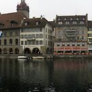 Chapel Bridge, Lucerne, Switzerland - The Kapellbruecke, Luzern, Die Schweiz by Steve Alexander