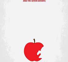 No252 My SNOW WHITE minimal movie poster by JiLong