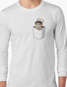 Chibi Pocket Cas Long Sleeve T-Shirt