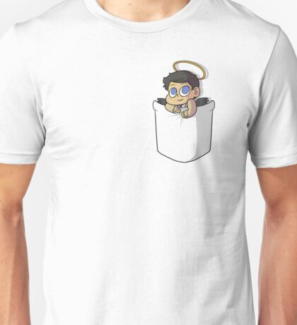 Chibi Pocket Cas Unisex T-Shirt