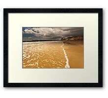 The Great Tor Gower Framed Print