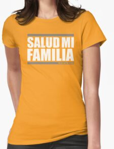 Salud Mi Familia Womens Fitted T-Shirt