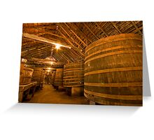 Tahbilk Winery Greeting Card