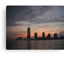 New Jersey at night Canvas Print