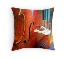 Musica Throw Pillow
