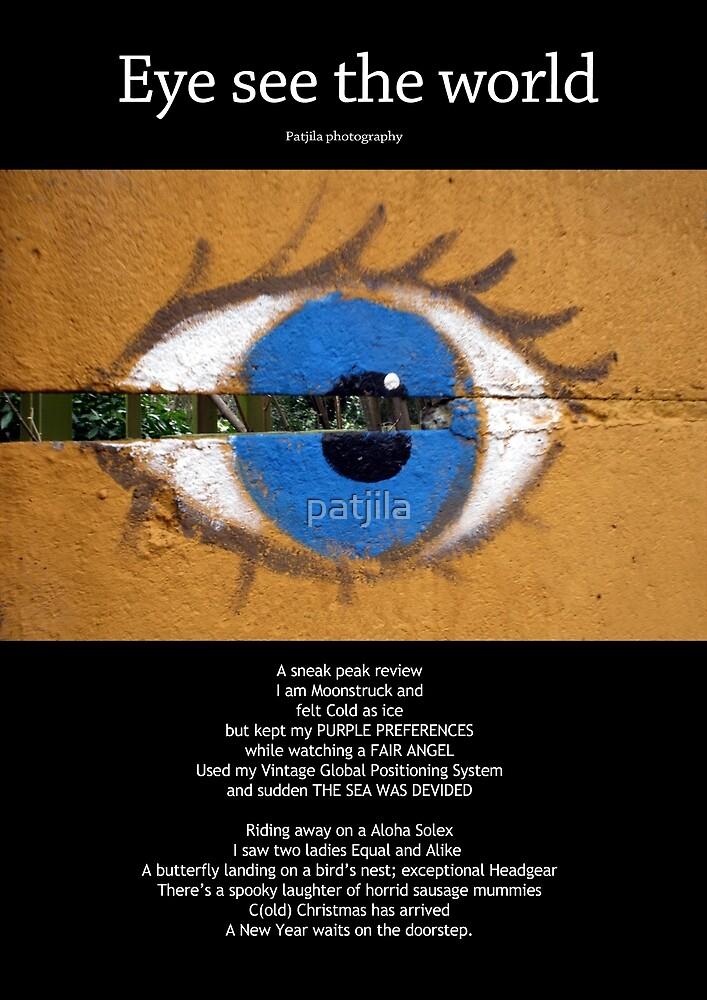 Eye See The World calendar cover by patjila