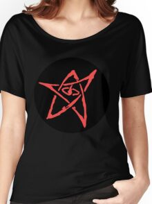 Elder Sign (Circular with Dark Background) Women's Relaxed Fit T-Shirt