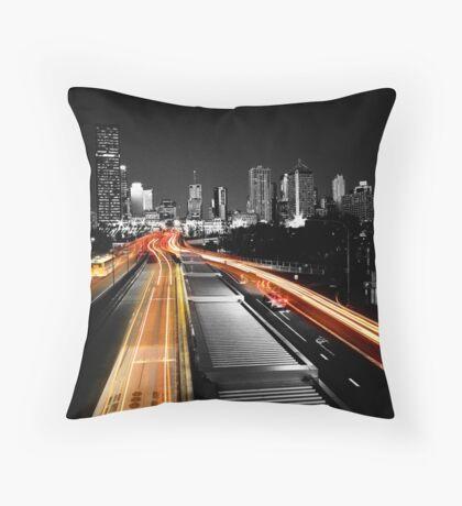 Rush Hour Throw Pillow