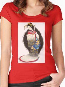 Jigoku Dayu Women's Fitted Scoop T-Shirt