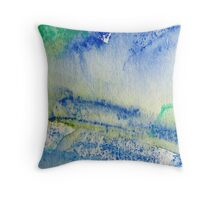Early Spring Throw Pillow