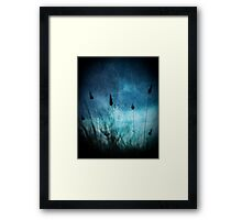 Pussy tails Framed Print