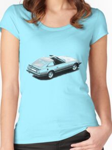 Nissan S130 280zx turbo 1978–1983 Women's Fitted Scoop T-Shirt