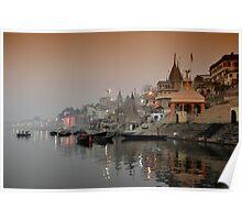 Ganges Dawn Poster