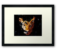Out Of The Darkness Framed Print