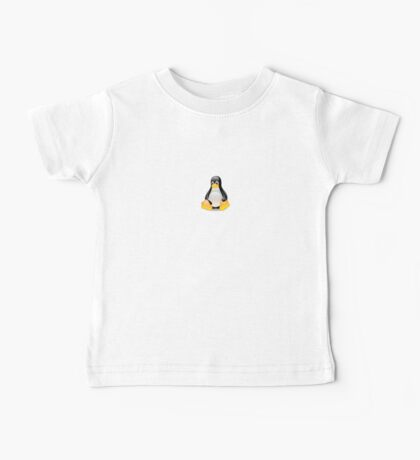 Penguin Linux Tux Crystal Baby Tee