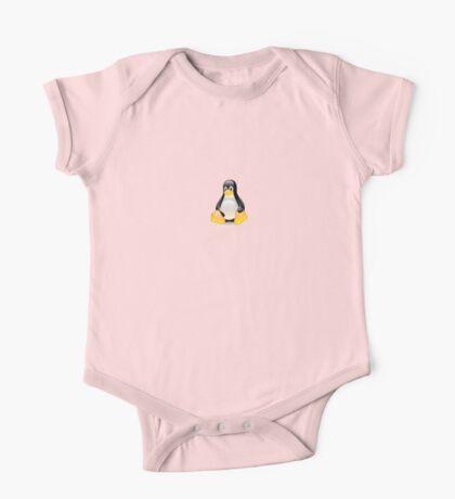 Penguin Linux Tux Crystal One Piece - Short Sleeve
