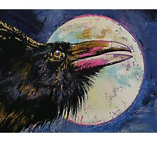 Raven Moon Photographic Print