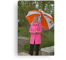 Carol Kirkwood BBC weather girl Canvas Print