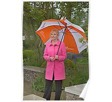 Carol Kirkwood BBC weather girl Poster