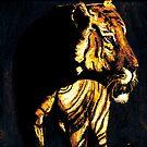 Sunset Tiger by Dawn B Davies-McIninch