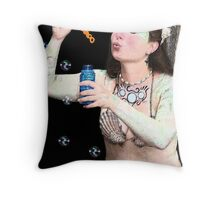 Siren Day Dreams Throw Pillow