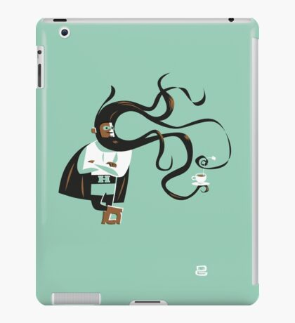 Super H (m) iPad Case/Skin