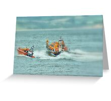 Lifeboats Greeting Card