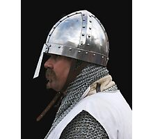 Medieval Knight Portrait Photographic Print