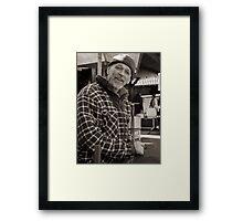 Sailmaker's Portrait Framed Print