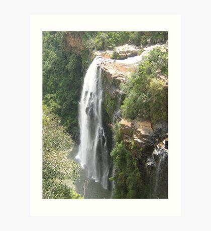 lisbon falls Art Print