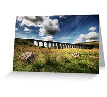 Ribblehead Viaduct, North Yorkshire Greeting Card
