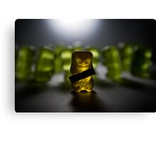 Gummy Bear Photography - Labels Are For Cans, Not For People (or gummy bears) Canvas Print