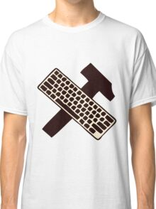 hammer and keyboard Classic T-Shirt