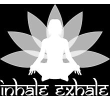 Inhale Exhale Photographic Print