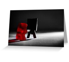 "Gummy Bear Photography - ""I didn't know what I was doing until I was done.""  Greeting Card"