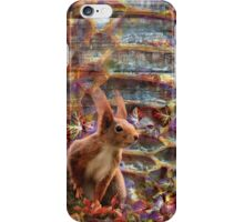 Forest with a Squirrel iPhone Case/Skin