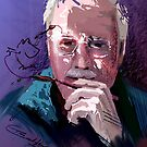 Self Portrait Happy 8 by Tom Godfrey