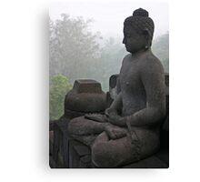 Borobudur buddha Canvas Print