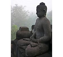 Borobudur buddha Photographic Print