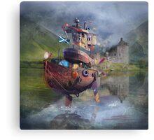 """ Fishing Boat ""  Canvas Print"