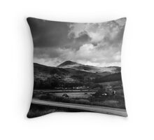 Snowdonia, North Wales Throw Pillow