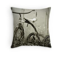 tricycle Throw Pillow