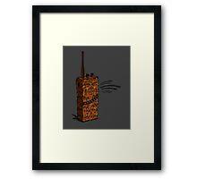 Wookiee Talkie Framed Print