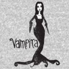 Vampira Tee (New Version) by Monsterkidd