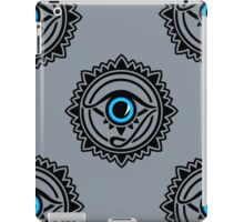 Nazar - protection amulet - eye of providence - all seeing eye, Horus iPad Case/Skin