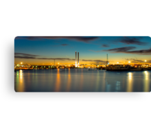 Docklands HDR Canvas Print