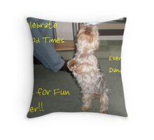 Just for Fun Banner Throw Pillow