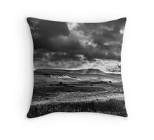 Pen-Y-Ghent, Yorkshire Dales Throw Pillow
