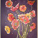 poppies bye twlite by lynseyl
