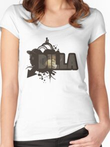 Dilla Women's Fitted Scoop T-Shirt